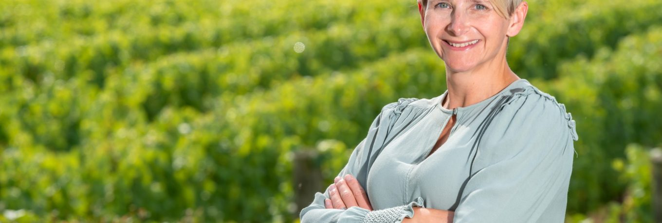 Tamara Roberts, from Ridgeview Wine Estate in Ditchling, East Sussex